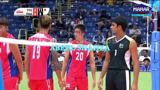Top1 setter Nabeel Shahzad Pakistan junior team nature of volleyball