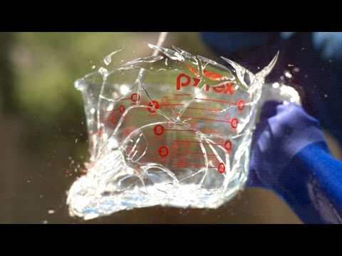 Glass Explosion at 343 000FPS The Slow Mo Guys