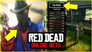 ريد ديد 2 اون لاين | 5 معلومات سرية ممكن ماتدري عنها باللعبة🔥 | Red Dead Redemption 2 Online