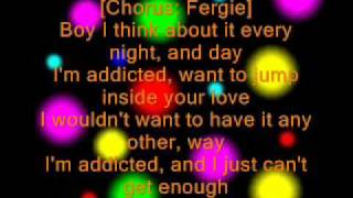 Black Eyed Peas - Can't Get Enough Lyrics