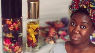 ♥ DIY PERFUME OIL ♥ | Make Your Own Fragrance | Perfect Gift