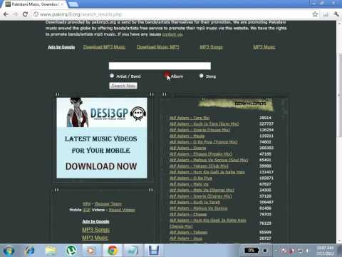 Easy way to download Pakistani songs for free !!!