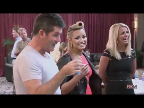 Demi Lovato and Simon Cowell Funniest moments on The X factor Season 2 3 6 LEGENDADO