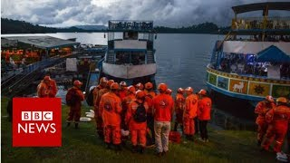 Colombia boat sinking: Six killed and 16 missing - BBC News
