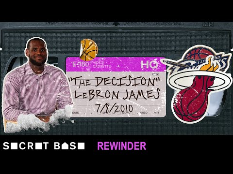 The Decision deserves a deep rewind LeBron James free agency 2010
