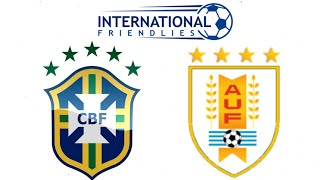 FIFA 19 BRAZIL VS URUGUAY INTERNATIONAL FRIENDLY