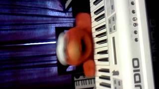 elmo playing keyboard