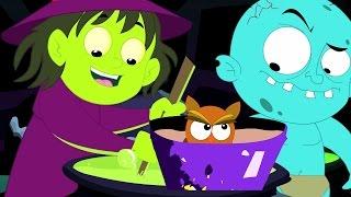 Sorcières soupe | Comptine | collection de enfants chansons | halloween chanson | Witches Soup Song