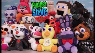 FNaF Plush Top 5 Five Nights at freddy's Funko Plush Puppet Steve Picks Sister Location Toys