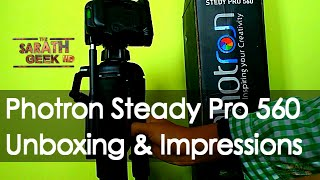 Photron Stedy Pro 560 - Unboxing and Impressions!!