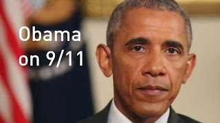 9/11 15 years on: Barack Obama honours September 11th victims