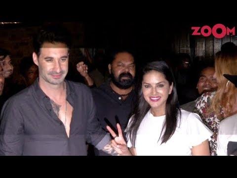 Xxx Mp4 Bollywood Star Sunny Leone Husband Daniel Weber Meet Their Fans In Mumbai 3gp Sex