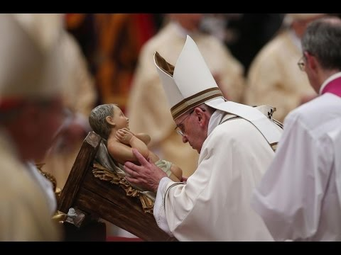 LIVE:  Pope Francis leads Christmas Eve Midnight Mass