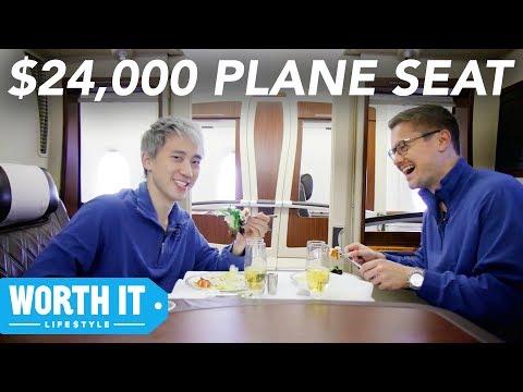 139 Plane Seat Vs. 24 000 Plane Seat
