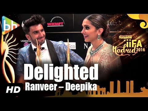 Xxx Mp4 DELIGHTED Ranveer Singh Deepika Padukone On Winning And RULING IIFA 2016 3gp Sex