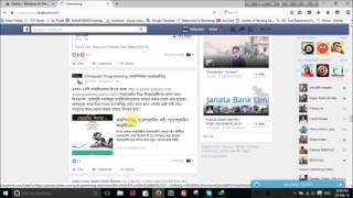 Bangla font problem & solution in Facebook or  Browser