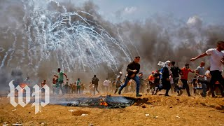 More than 50 Palestinians killed by Israeli forces during deadly Gaza protests