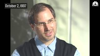 Steve Jobs 1997 Interview: Defending His Commitment To Apple   CNBC