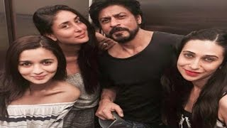 Kareena Kapoor Party With Alia Bhatt, Shahrukh Khan, Karisma Kapoor