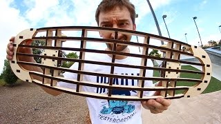 INCREDIBLE LASER CUT SKATEBOARD! | YOU MAKE IT WE SKATE IT EP 51