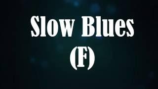 Slow Blues Backing Track (F)