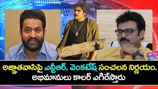 Jr NTR And Venkatesh Shocking Comments on Trivikram | Agnathavasi Latest News | YOYO Cine Talkies