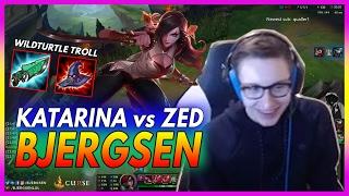 394. Bjergsen Katarina vs Zed Mid - February 8th, 2017 - Patch 7.3 Season 7
