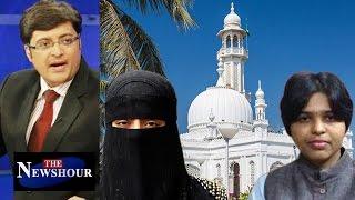 Women Allowed In Haji Ali - Big VICTORY, Next Triple Talaq Issue?: The Newshour Debate (24th Oct)