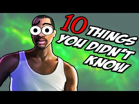 10 Things You Didn t Know About GTA San Andreas
