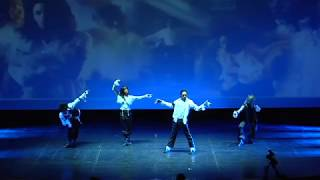 Michael Jackson - 2 Bad - Thrilling Dance Tribute to MJ by JAYL at Le Grand Rex
