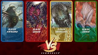 Commander VS April Fools: Sliver Hivelord vs Sliver Queen vs Sliver Overlord vs Sliver Legion