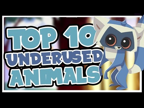 Top 10 Best Animals No One Plays in Animal Jam