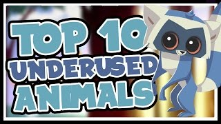 Top 10 Best Animals No One Plays in Animal Jam
