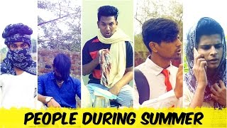 Types Of People In Summer || Hyderabadi Comedy || Warangal Diaries
