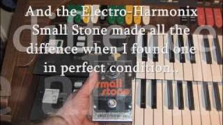 Jean Michel Jarre - Oxygene pt.1 [Original] - Eminent 310 Unique + Small Stone Phaser