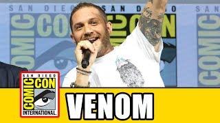 VENOM Comic Con Panel - Tom Hardy