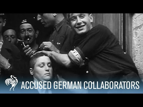 Xxx Mp4 French Women Accused Of Collaborating With Germans Punished War Archives 3gp Sex