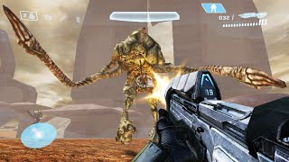 Halo CE Maps Intense Desert AI Bots Mod Halo Online