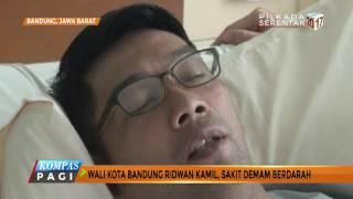 Terkena DBD, Kang Emil Dirawat