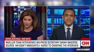 Sarah Sanders interviewed by Mueller