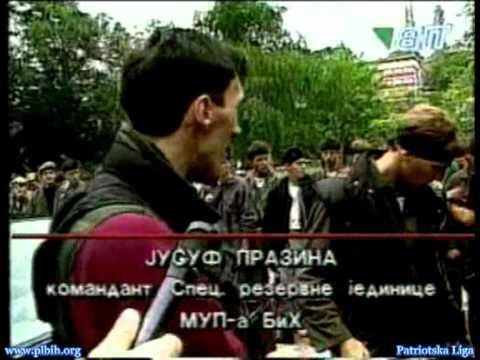 Snaga Bosne Juka Prazina Smotra branilaca Sarajevo 92