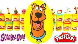 Ovo Surpresa Gigante do Scooby Doo em Português Brasil de Massinha Play Doh