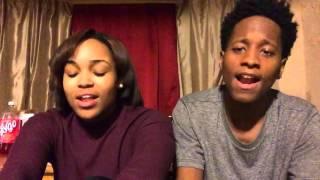 Liquor - Chris Brown (cover) Asianaé & B. Ryan