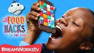 Edible Chocolate PHONE! + Wimpy Kid Food Hacks | FOOD HACKS FOR KIDS