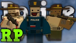 Cinematic Police RP - Put your hands UP ! - Unturned 3.0