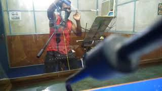 Santanu studio recording