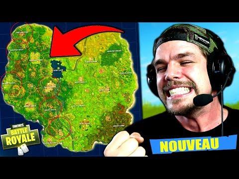 La NOUVELLE MAP sur Fortnite: Battle Royale !!
