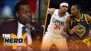 Stephen Jackson on the chances Kevin Durant joins the Clippers in free agency | NBA | THE HERD