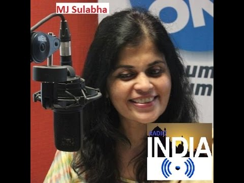 MJ Sulabha Radio India Show Two Worldwide Digital Stream Good Morning Chennai