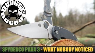 I'm Not Sure Why Nobody Noticed This... The Spyderco Para 3 (Paramilitary 3) vs Paramilitary 2 Knife